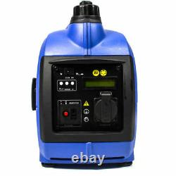 Générateur D'essence 1.2kva 1kw 1000w Inverter Silent Portable Suitcase Leisure Use