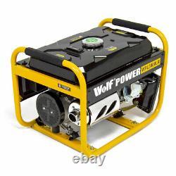 Générateur D'essence 2500w 3.12kva 5.5hp Inverter Silencieux À 4 Coups Portable