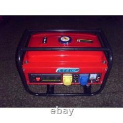 Générateur D'essence 2.8kw Nouveau 240/110 Volts 2 Ans Garantie Site Generator Nouveau 1