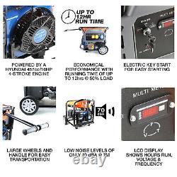 Générateur D'essence Démarrage Électrique Puissance Du Site Portable 7,9kw 7900w 9,8kva 230/115v