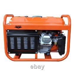 Générateur D'essence Portable 2800w Rocwood 110v 4stroke 8hp Electric Start Huile Gratuite