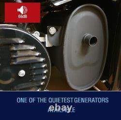 Générateur D'essence Portable 6000w-e 3.4 Kva 8hp Quiet Power Electric Key Start