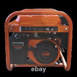 Générateur D'essence Portable 6500w Rocwood 4 Course 110v 8hp Recul Démarrer L'huile Gratuite