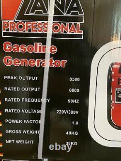 Générateur D'essence Portable 8500w
