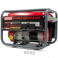 Générateur D'essence Powerking Pkb4000lr 2800w 3.5kva Wolf 7hp 4 Stroke