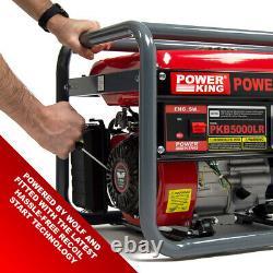 Générateur D'essence Powerking Pkb5000lr 3200w 4kva Wolf 7hp 4 Stroke