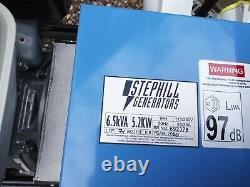 Générateur D'essence Stephill Honda Gx390. Plus Trolley