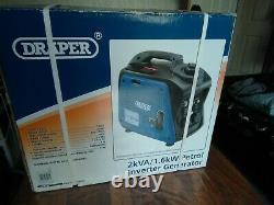 Générateur D'onduleur D'essence (2.0kva/1.6kw) Draper 80956