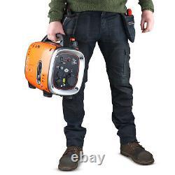 Générateur D'onduleur D'essence Portable Silent Suitcase 900w 1,1kva Black & Decker