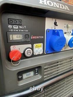 Générateur D'onduleurs Honda Eu70 Eu70is Essence Eu7000is Comme Eu65