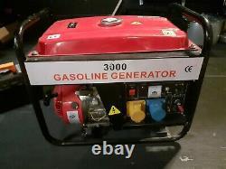 Générateur De Gaz 3000 Gx200 6,5hp