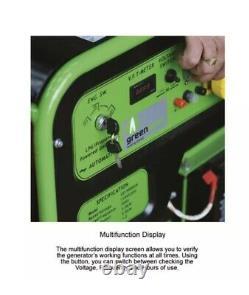 Générateur De Gpl Propane Gaz 5kw Greengear