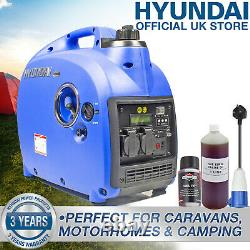 Générateur De L'onduleur D'essence Portable Silencieux 2kw 2.4kva Loisirs Camping Caravan