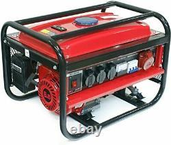 Générateur De Phase 3 D'essence Portable 230v 400v 6.5hp 3000w Modèle Lb260 37kg
