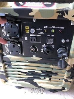 Générateur De Valises D'essence D'onduleur Portable W5500i 3.8kva / 3.0kw Camping