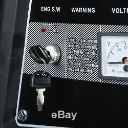 Générateur Électrique 9.5kw Essence /11.5kva Clé De Démarrage Portable Alimentation 7000k Bohmer