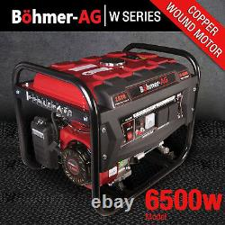 Générateur Essence Portable Bohmer Électrique 8hp 3.4kva De Camping Calme Et Puissance