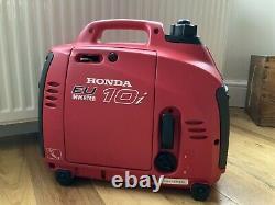 Générateur Honda Eu 10i. Onduleur Silencieux De Valise. Légèrement Utilisé