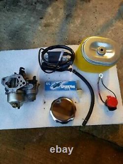 Générateur Honda Gx390 6.5kva Avec Conversion De Gaz