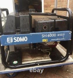 Générateur Honda Gx 390 Sdmo Sh 6000-2