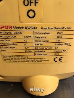 Générateur Kipor Ig2600 Sinemaster