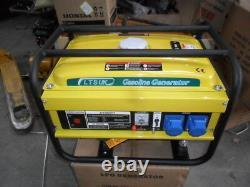 Générateur Lpg Et Petrol 2.5kw Dual Fuel Nouveau 240 Volt 2 Ans De Garantie Nouveau