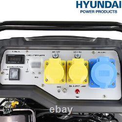 Générateur Petrol Electric Start Portable 14hp 7000w 7kw 8.75kva 4 Stroke Hyundai