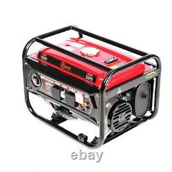 Générateur Portable Essence 3000w 3kw Silencieux Fiche 7hp Moteur Camping Puissance 4.0kva