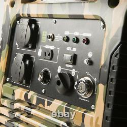 Générateur Portatif De Valise D'essence D'onduleur W5500i 3.8kva / Camping De 3.0kw
