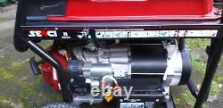 Générateur, Senci Sc9000e-11, Touche De Démarrage Électrique, Essence 25l, 120v / 240v / 230v, Ohv
