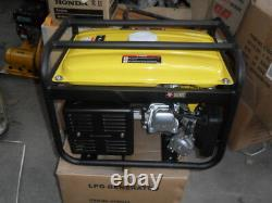 Gpl Et Essence Générateur 2.5kw Bicarburation Essence Nouvelle Garantie 240 Volts 2 Ans Nouvelle