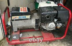 Harrington Honda Soudeur Générateur 200a DC Unité De Soudage Avec 110v/240v Points De Vente