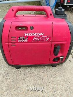 Honda Eu20i Generator Silent Ordre De Travail Parfait Vient D'être Desservi