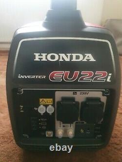 Honda Eu22i 2200w Générateur D'onduleur Valise Portable