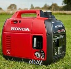 Honda Eu22i 2.2 Kw Générateur Silencieux D'onduleur De Valises De Course (pétrole)