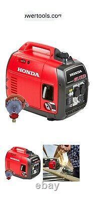 Honda Eu22i Gpl Propane Gaz/pétrole 2200w Générateur D'onduleur Silencieux Portable Gpl