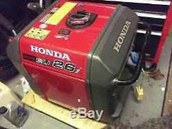 Honda Eu26i Petrol Générateur Inverter