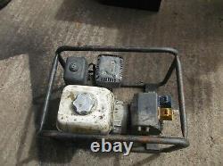 Honda Gx160 2.4 Kva Générateur D'essence 240v /110v Pièces Détachées Et Réparations Usagées