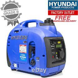 Hyundai 1000w Générateur D'onduleur À Essence Portable Hy1000si Générateur Graded