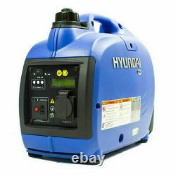 Hyundai 1.2kva 1kw 1 Generator Inverter Silent Portable Valise Essence Hy1000si