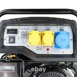 Hyundai 8kwith10kva Recul / Générateur D'essence De Démarrage Électrique Hy10000lek-2 Graded