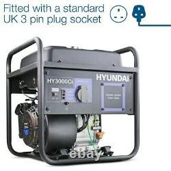 Hyundai Hy3000ci Générateur Convertisseur 3kw Graded