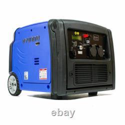 Hyundai Hy3200sei 3200w Générateur D'onduleur Portable 210cc Camping 4 Temps