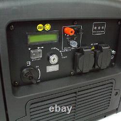 Hyundai Hy3200sei 3200w Générateur D'onduleur Portatif 3.2kw Loisirs Classés