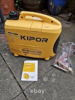 Kipor Générateur Numérique Sinemaster Kge 1000ti Iso 9001 Certification