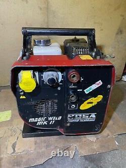 Mosa Magic Weld Mk II 150, Générateur Portable De Soudeur D'essence 110v Sortie