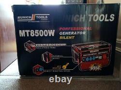 Munich Tools Mt8500w Générateur Silencieux