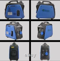 Nouveau 800w Portable Silent Camping Gasoline Power Onduleur Generator Set 220v T