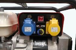 Nouveau Belle Gpx2700 Generator 2.7kva Honda Gx200 Petrol Engine 110v 230v Site