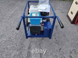 Nouveau Générateur D'essence Honda Gx270 5kva Electric Start With Handle & Wheels Set